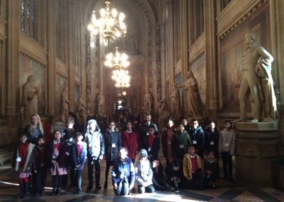 School Coulcil visit Westminster Palace